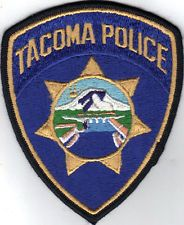 Tacoma Police Department Old Style Wa Patch Police Patches Police Patches