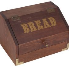 Do It Yourself Plans For A Wooden Breadbox Wooden Bread Box