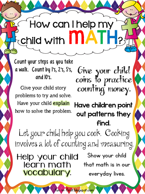 Classroom Handout Ideas ~ Free printables for parents and