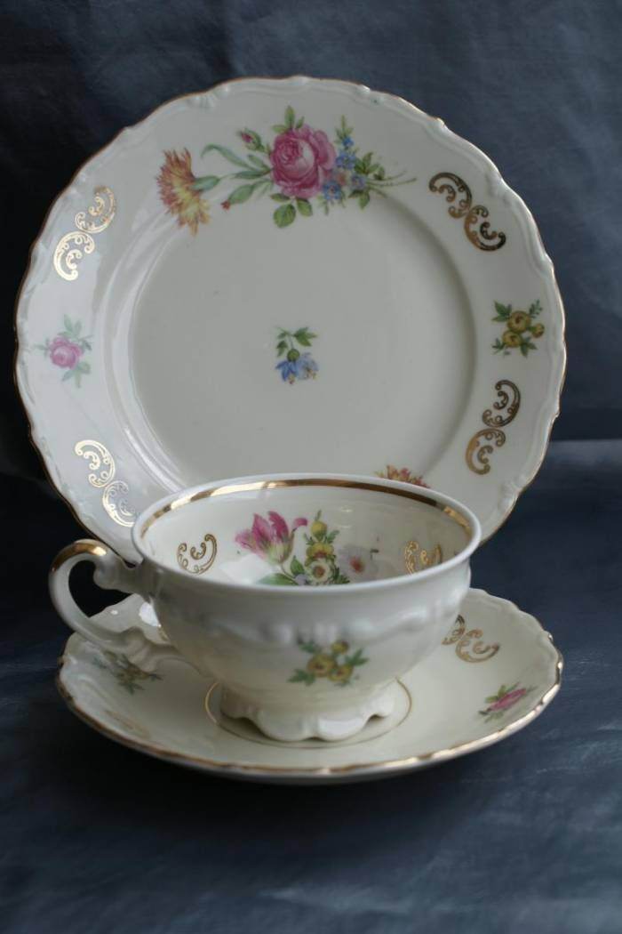 Bavarian China Manufacturers Mitterteich Bavaria Dirodido Antique China Dishes China Dishes Tea Cups