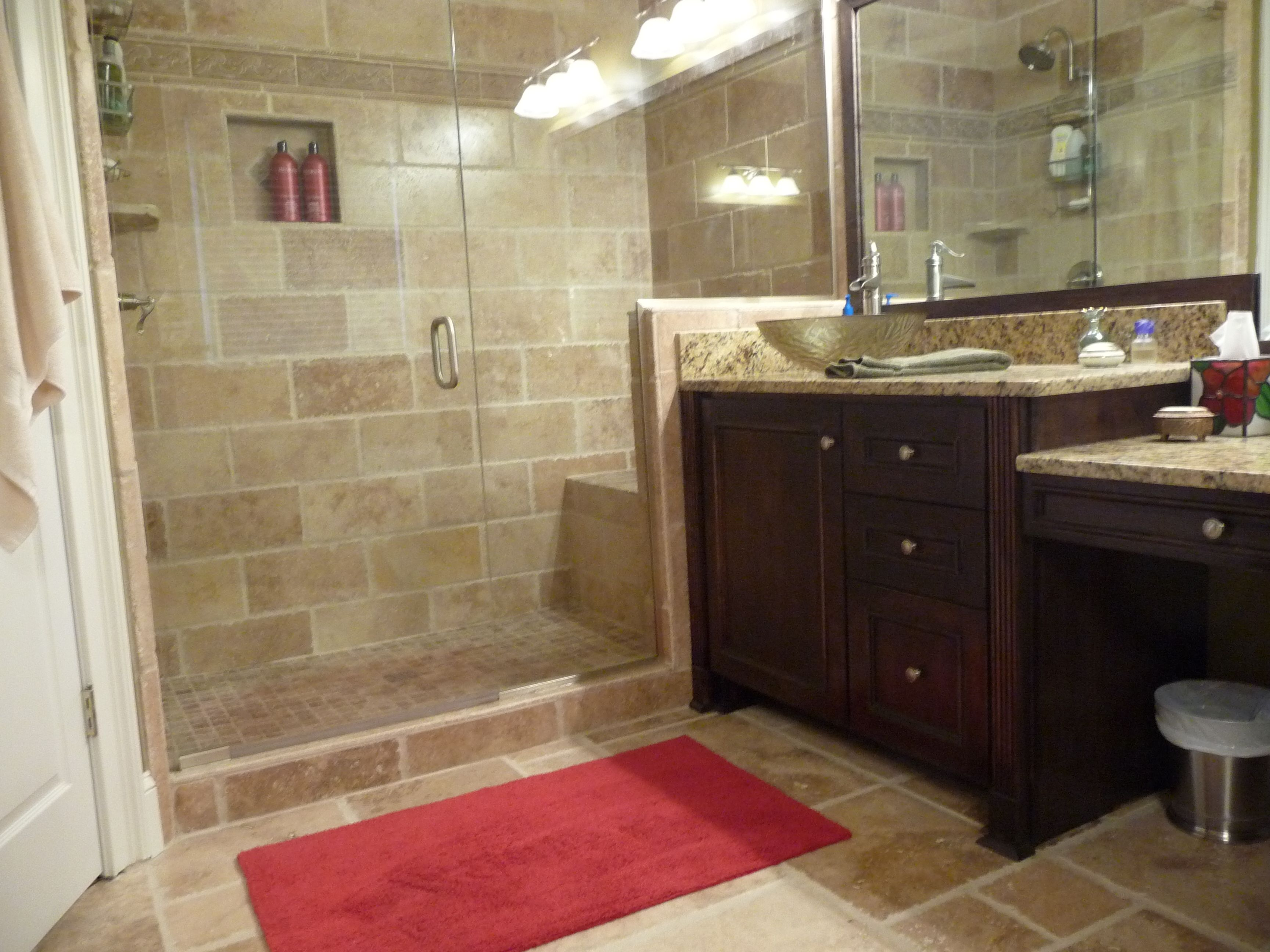 bathroom tile remodel pictures - home decorating