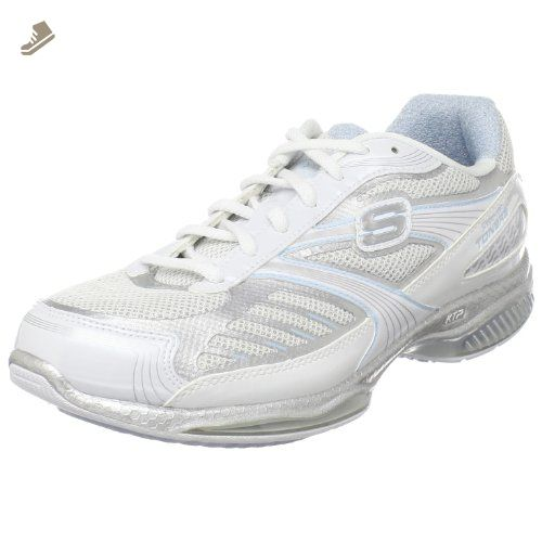 Skechers Shape Ups Women's Sneaker whitesilver Toners Ultra Fit HY2DWE9I