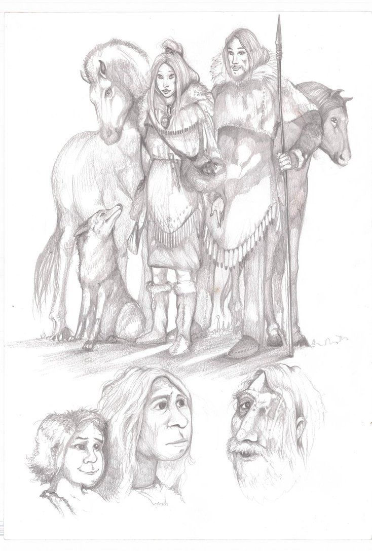 The Clan Of The Cave Bear By Giorgio C 2011 Ayla Cave Bear