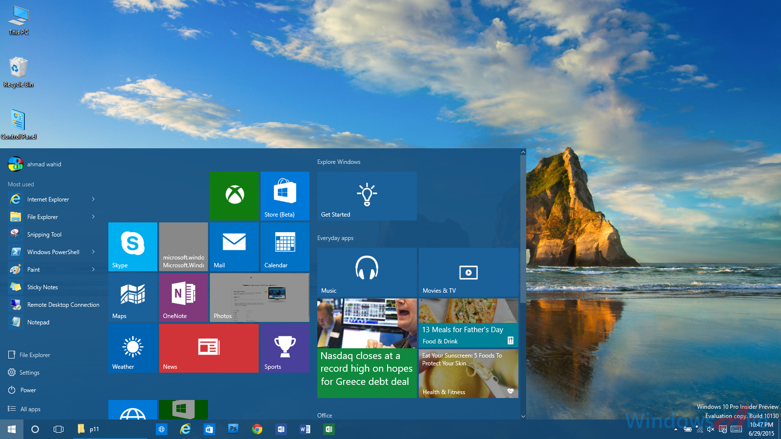Windows 10 Insider Preview build 10158 is now available for download
