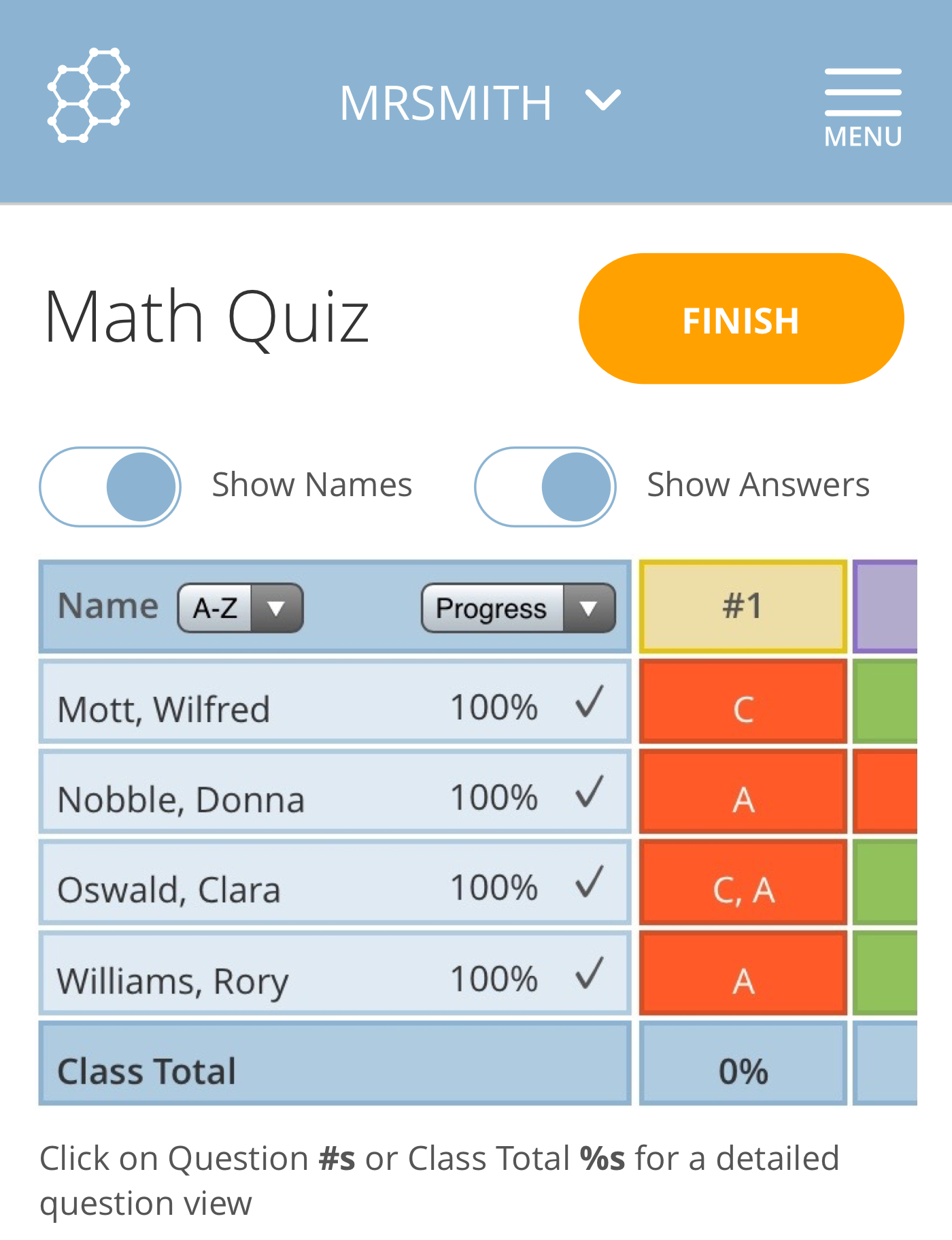 Socrative is a great application that can be utilized for quick ...