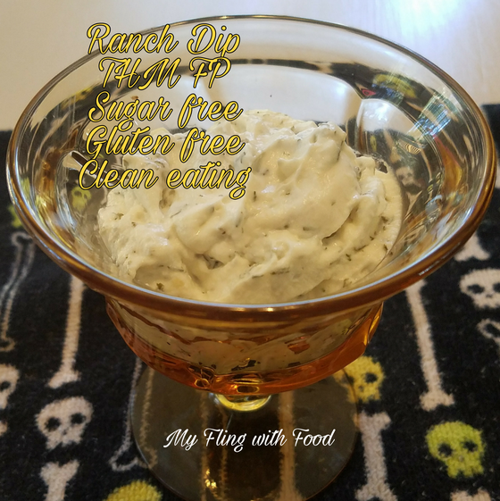Ranch dip has a very special place in my heart. I've been eating it a long time, and gave it up once I started my Trim Healthy Mama journey because there's not one ranch dressing on the…