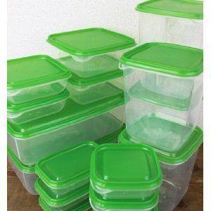 Plastic Photo Storage Set of 17
