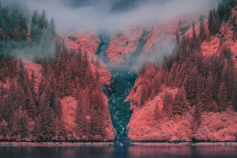Spectacular Infrared Pictures in Alaska