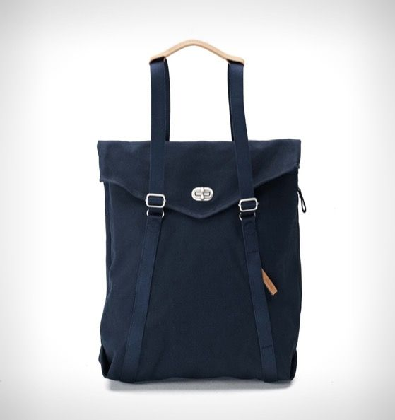 Qwstion Convertible Tote Backpack Organic Navy Rushfaster Au Australia