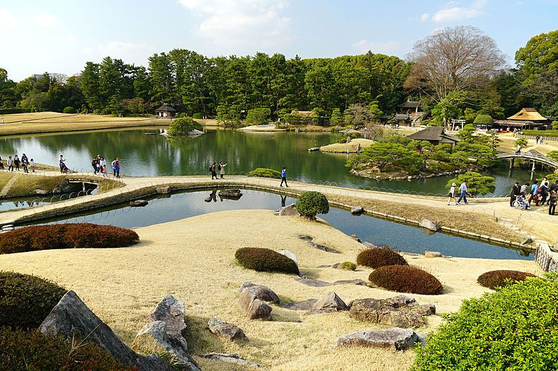 160319 Korakuen Okayama Japan04s3 - 日本庭園 - Wikipedia