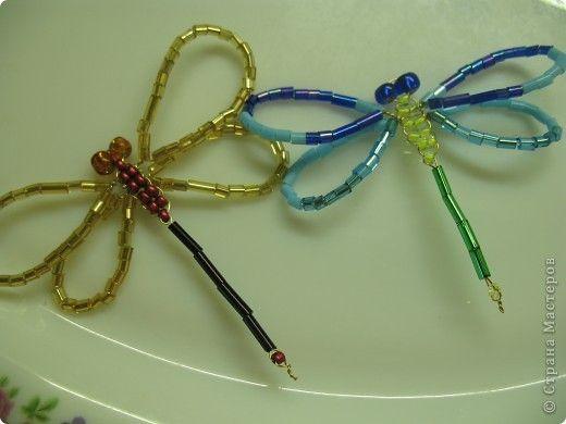 bead dragonflies   Arts & Crafts   Pinterest   Perlen, Schmuck und ...