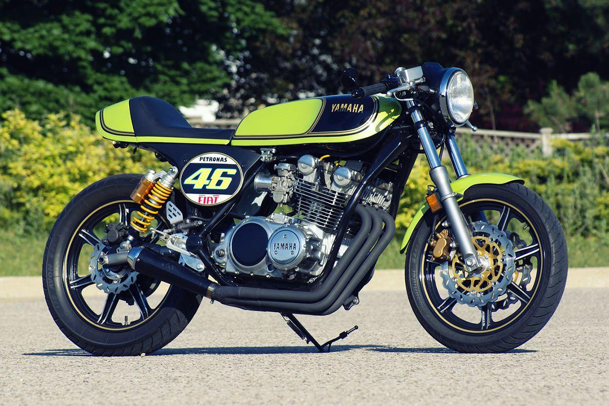 Custom Bikes Of The Week The Vintage Edition Cafe Racer Yamaha Yamaha Cafe Racer [ 834 x 1250 Pixel ]