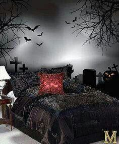 Good Halloween Themed Bedroom