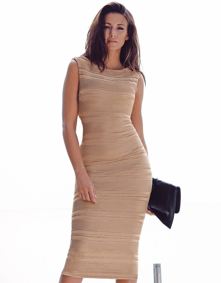 bf9d29783d71 Lipsy Love Michelle Keegan Ripple Midi Bodycon Dress | Fashion Must ...