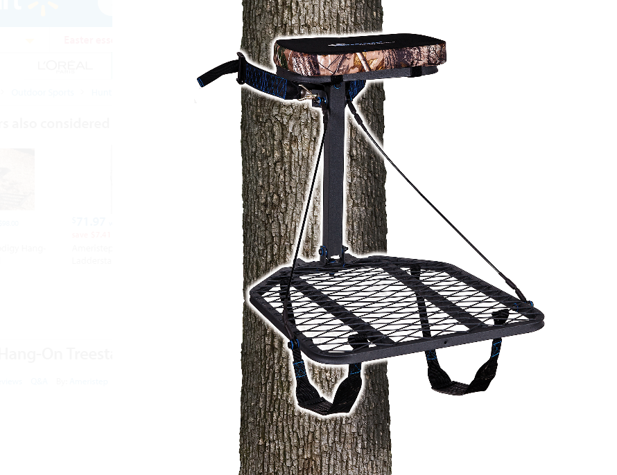 Tree Stands For Hunting Deer Hunting Climbing Hang On Foot