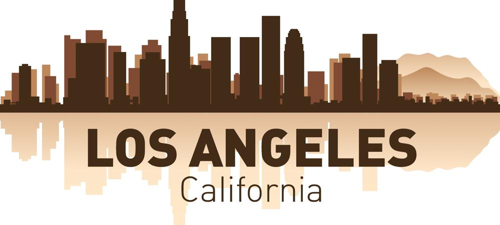 Los Angeles City Skyline Silhouettes Vector Set Free Vector Cdr Download 3axis Co Silhouette Vector City Skyline Silhouette Skyline Silhouette