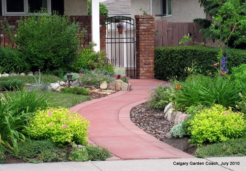 Calgary Garden Inspiration Love The Path And Plantings Side