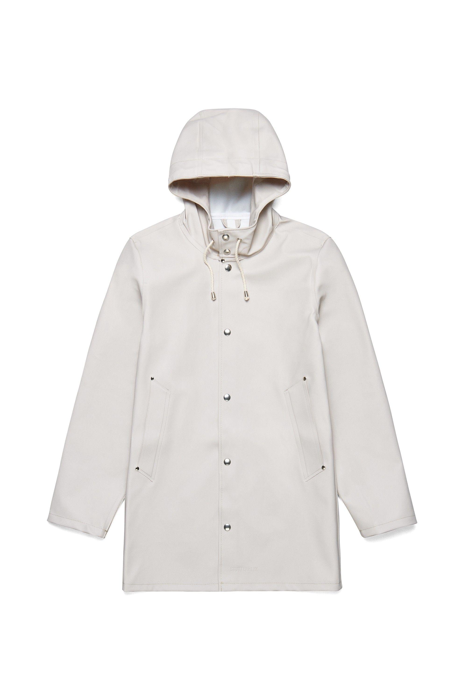 13cd564f19c4 Shop the Stutterheim Stockholm raincoat in Light Sand. Free worldwide  shipping.