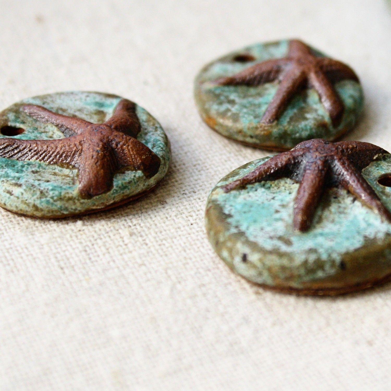 Caribbean starfish pendant