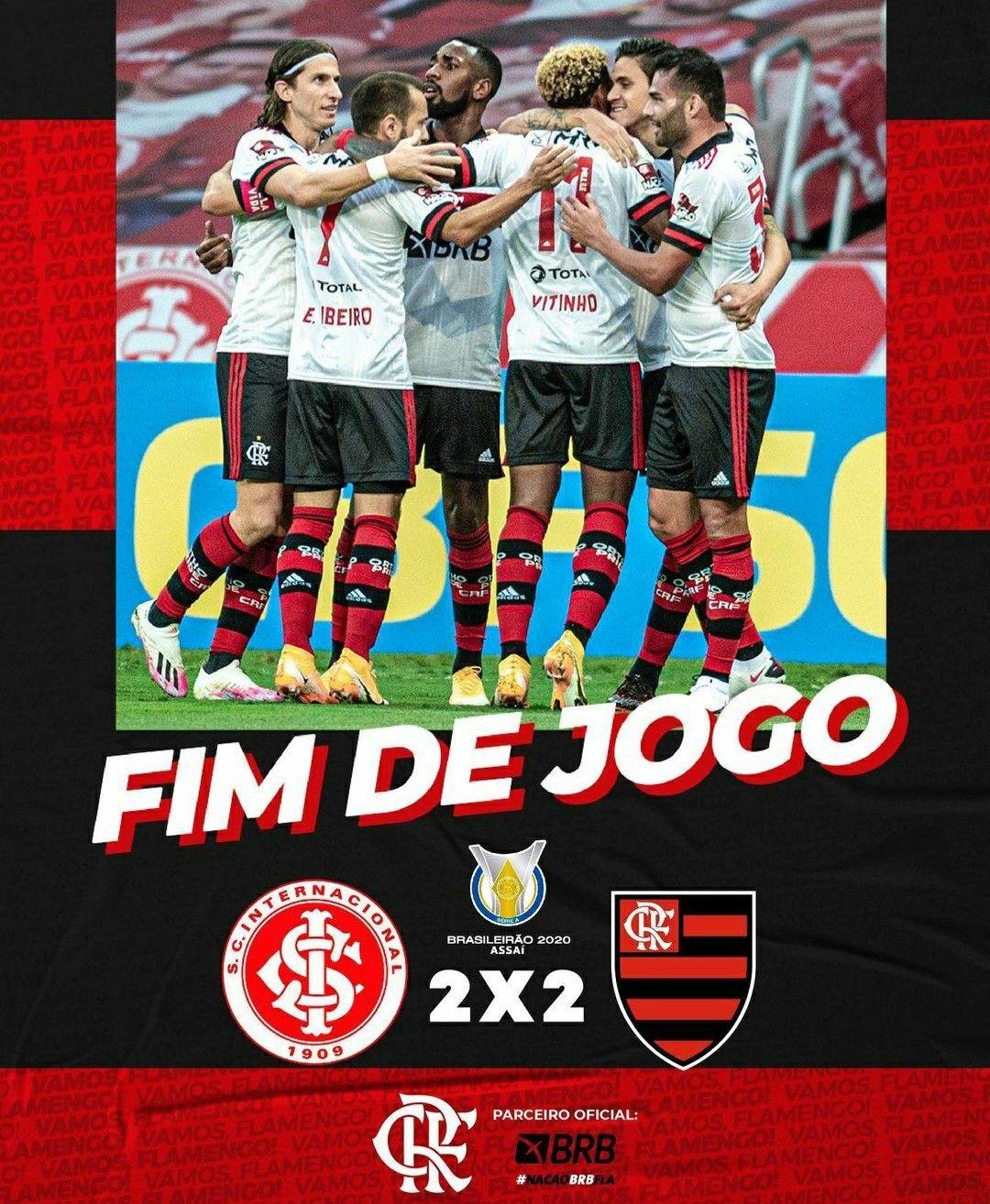 Fim De Jogo Internacional E Flamengo Beira Rio Tudo Sobre Flamengo Jogos Vitinho