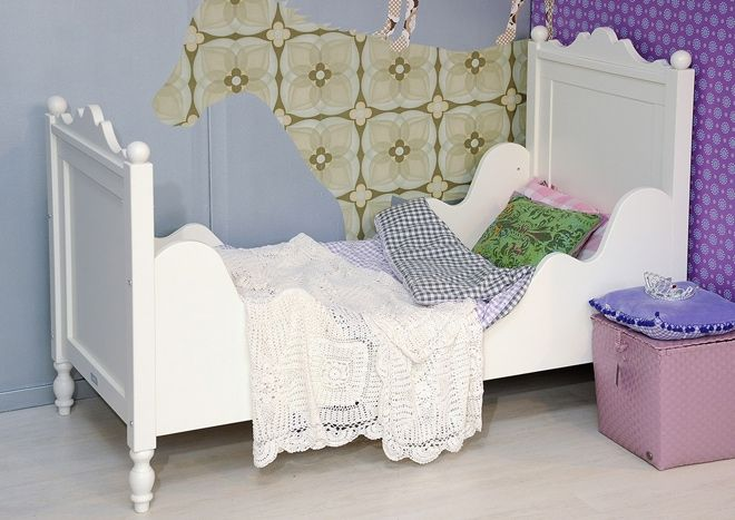 Peuterbed Bopita Roze.Lit Junior Belle 70x150 Belle Lights And Dream Rooms