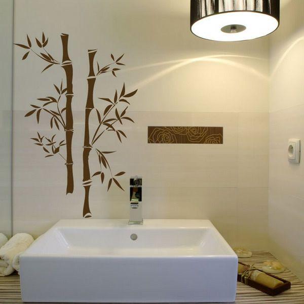 Wandtattoo Dekotipps für`s Badezimmer Pinterest - Wandtattoos Fürs Badezimmer