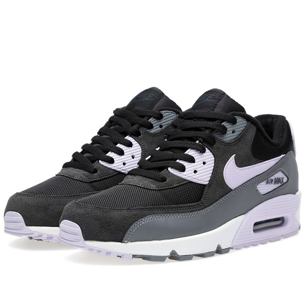 pretty nice 642a6 52402 Nike Air Max 90 Essential (Black   Violet Frost)