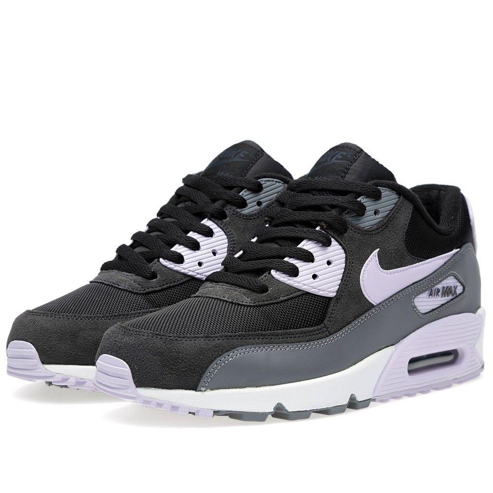Nike Air Max 90 Essential (Black & Violet Frost)
