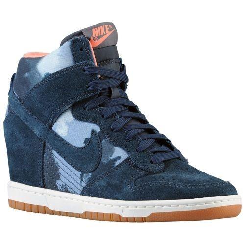 watch 1ad06 b4c7e Nike Dunk Sky High Mujer 43258401 Arsenal ArmadaBlancoMarrón Gum Med  Zapatillas