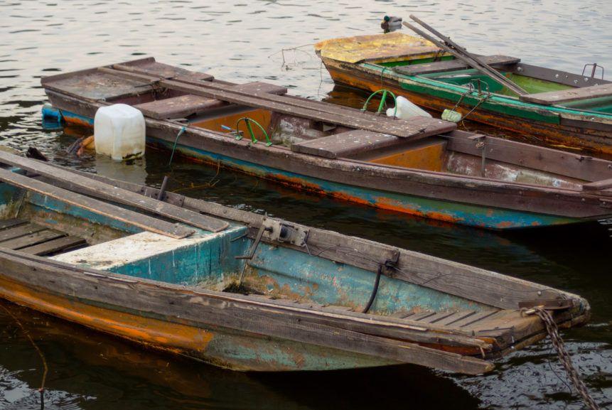 old wooden boats libreshot