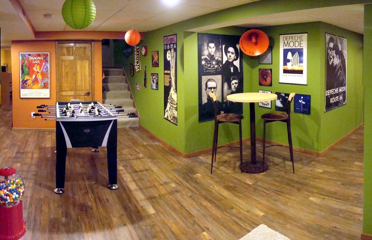 Rustic Look Man Cave : Awesome man cave designs just in time football season men
