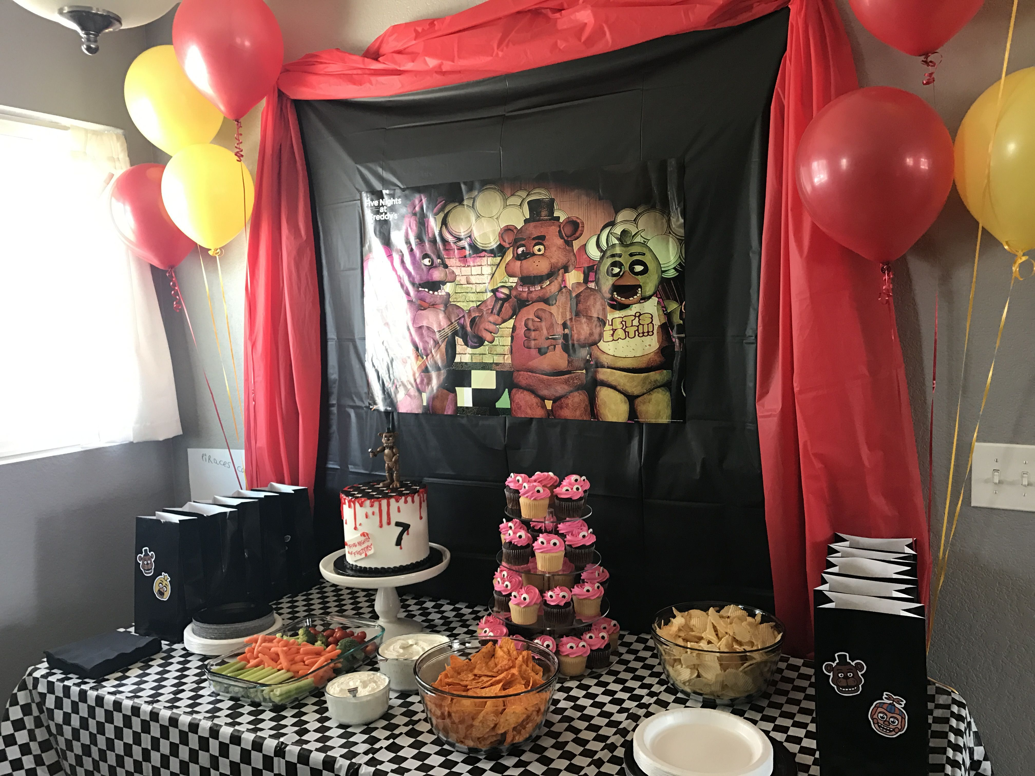 Five Nights At Freddys Birthday Party Supplies Boy Birthday