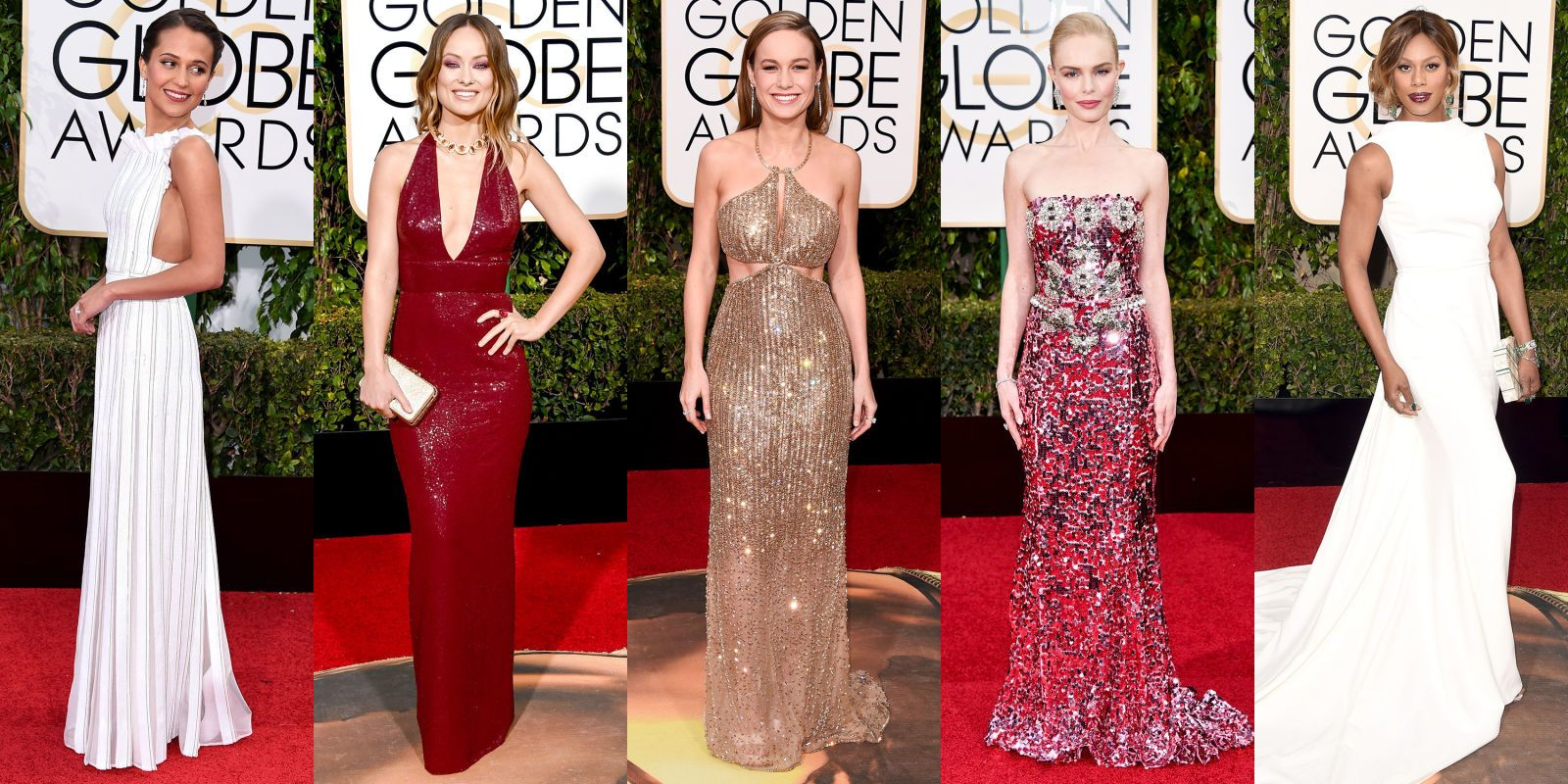 The Best Dressed at the 2016 Golden Globes  - ELLE.com