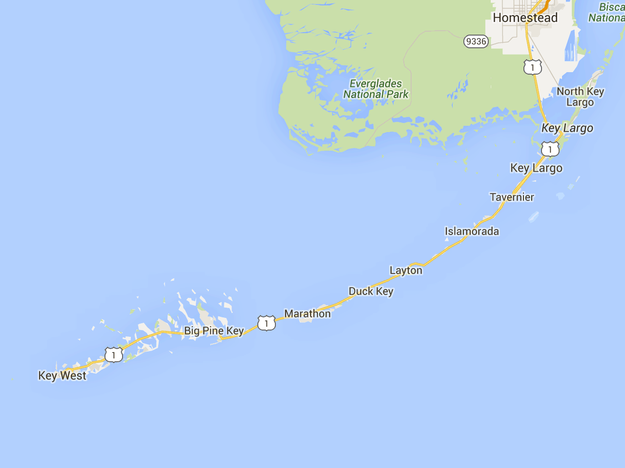 Best  Florida Keys Camping Ideas On Pinterest - Map florida keys hotels