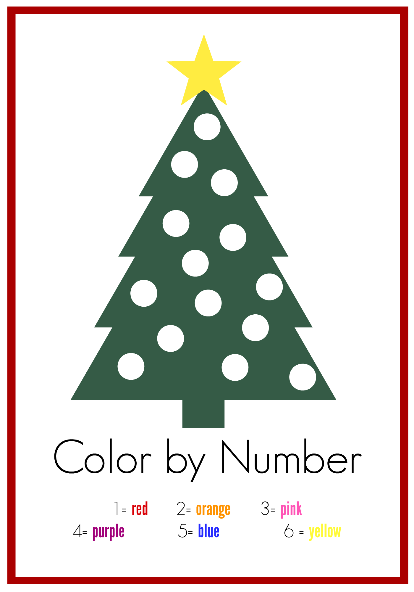 7 ways to use this FREE Color By Number Printables | Free coloring ...