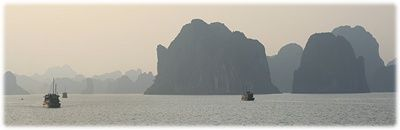 Halon Bay in Vietnam