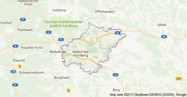 Map of 90518 Altdorf bei Nürnberg, Germany Germany