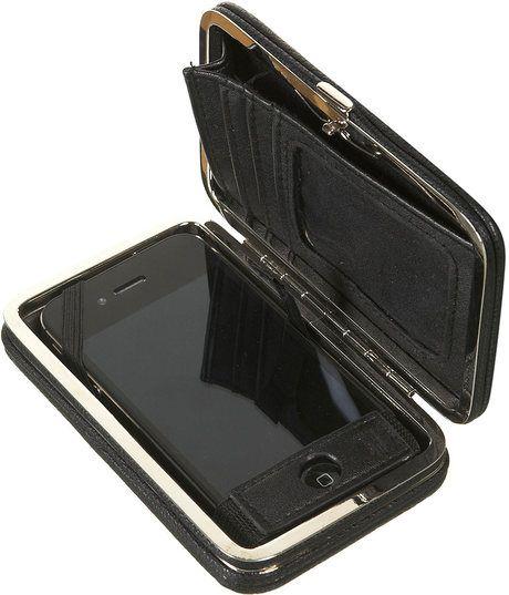 iPhone hard purse case