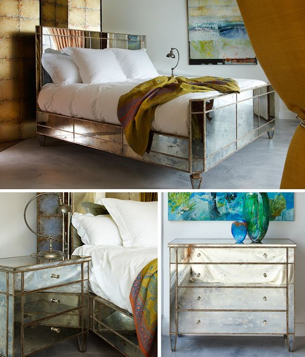 Valentino Four Drawer Bedside Chest Bed Design Contemporary