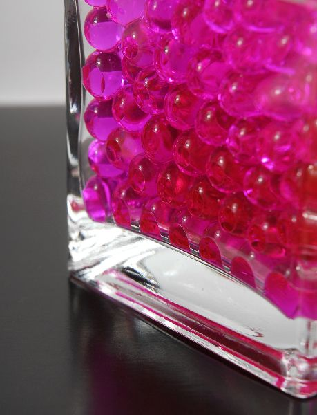 Hot Pink Water Pearls Water Holding Vase Gems1489 52 Oz 150ml