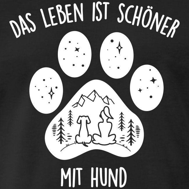 Hunde Fanshop   Leben mit Hund - Männer Premium T-Shirt
