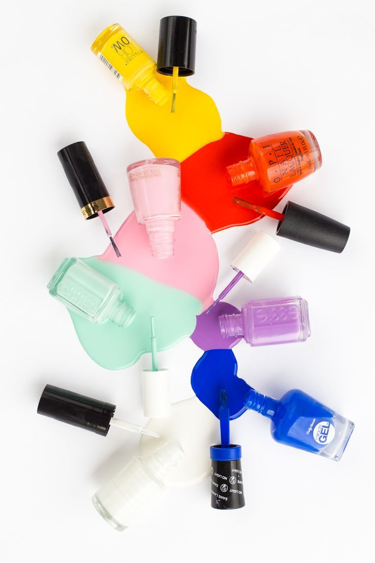 The Seven Best Summer Nail Colors | Manicure, Hair make up and Make up