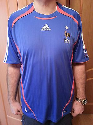 France home #adidas football jersey shirt 2005-2007 #size-xl #(zidane era),  View more on the LINK: 	http://www.zeppy.io/product/gb/2/221984166440/
