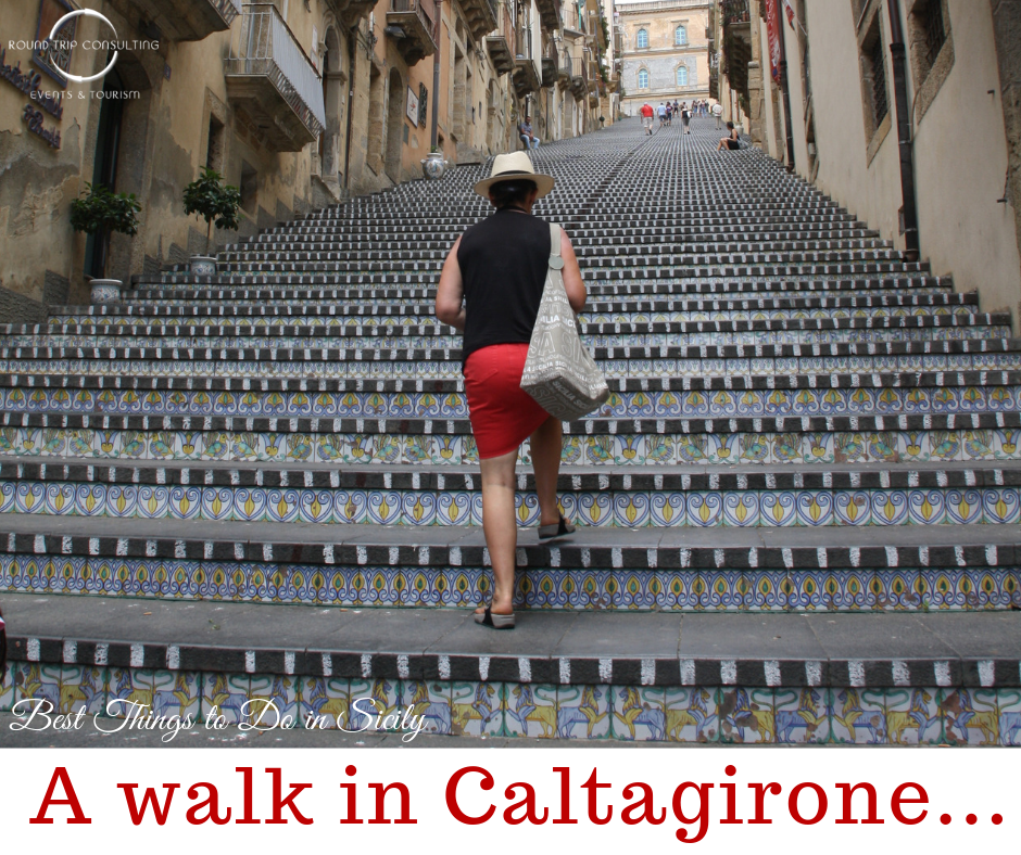 A private day tour to visit #Caltagirone, one of best places to see in #Sicily.  #sicilywalkingtour #sicilydaytour #sicilydaytrip #bestthingstodoinsicily #sicilyprivatetour #privatetoursicily #privatetripsicily #sicilyprivatetrip #triptosicily #sicilytour #sicilytravel #sicilytrip #tourofsicily #bespoketravel #luxurytours #customizedtours #travelplanner #tripplanner #travelconcierge #travelconsultant #vacationplanner #traveldesign #luxurytraveladvisor #luxurytravelconsultant #travel