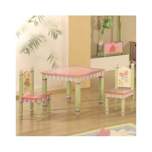 Tea table in tea room | ... Table and Chair Set Garden Handcrafted Kids  sc 1 st  Pinterest & Tea table in tea room | ... Table and Chair Set Garden Handcrafted ...