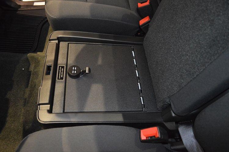 Chevrolet Silverado 2500 3500 Under Seat Console 2015 2018
