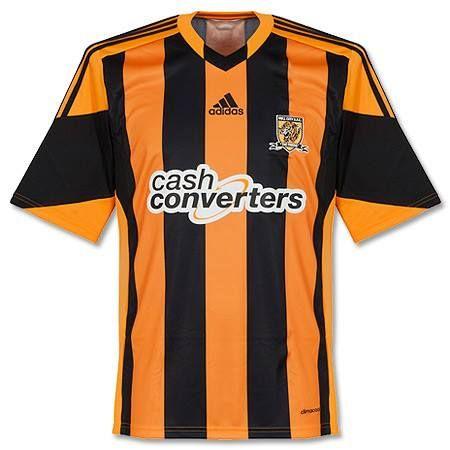 Camiseta del Hull City 2013-2014 Local