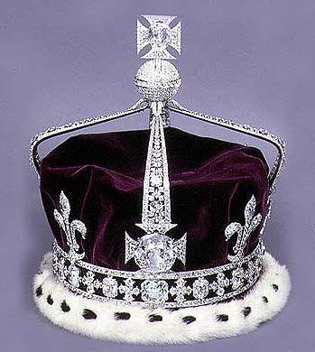 Queen Elizabeth The Queen Mother's Coronation Crown made ... Queen Elizabeth 1 Crown