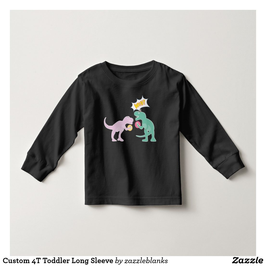 Design your own t shirt zazzle - Customize Your Own 4t Toddler Long Sleeve On Zazzle Use The Customize Design Tool To Upload Insert Your Own Artwork Design Or Pictures To Make A One Of