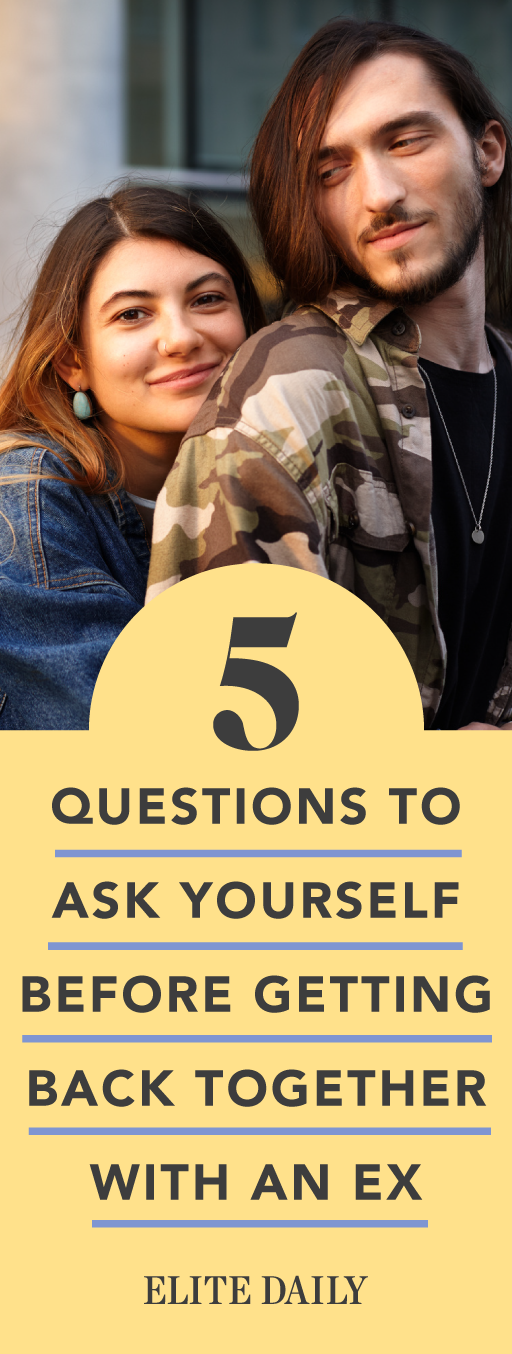 Questions to ask yourself before dating your ex
